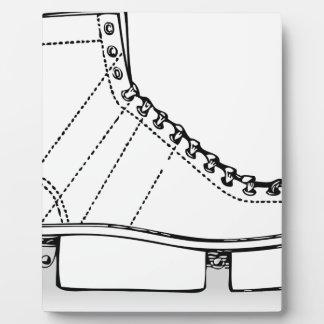 Ice Skate Plaque