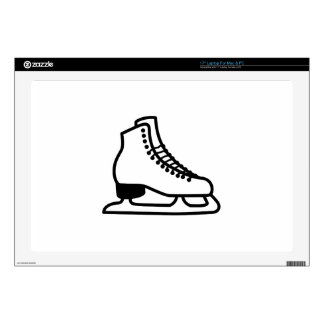 "Ice Skate Skin For 17"" Laptop"