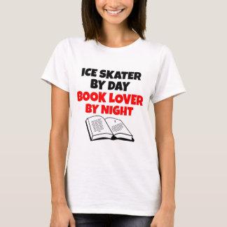 Ice Skater Book Lover T-Shirt