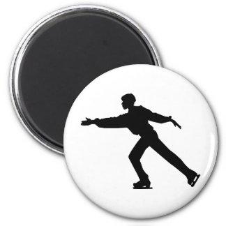 Ice Skater Dancer Magnet