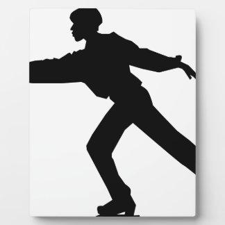 Ice Skater Dancer Plaque