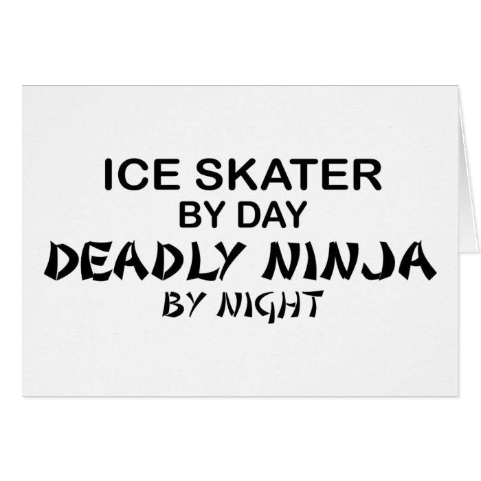 Ice Skater Deadly Ninja by Night Card