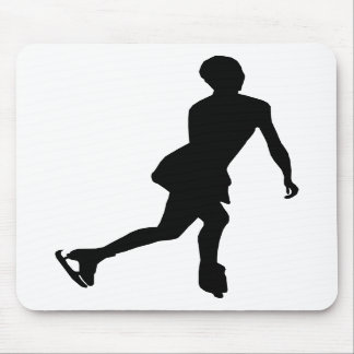 Ice Skater Mouse Pad