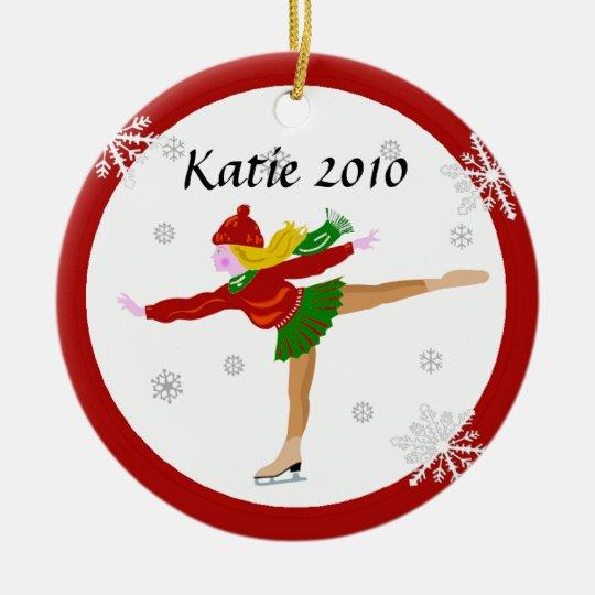 Ice Skater Ornament