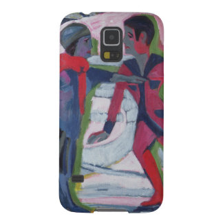 Ice Skaters Case For Galaxy S5