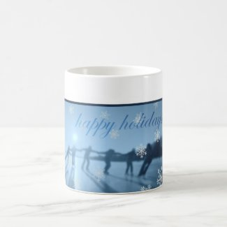 Ice Skaters mug