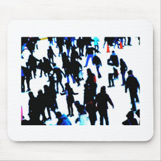 Ice Skaters Mouse Pad