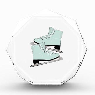 Ice Skates Acrylic Award