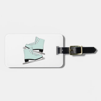 Ice Skates Tag For Bags