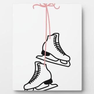 Ice Skates Plaque