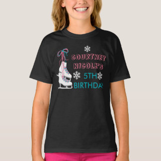 Ice Skating Birthday Personalized Shirt