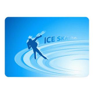 Ice Skating Card