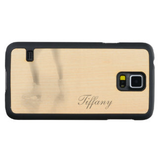 Ice skating carved® maple galaxy s5 case