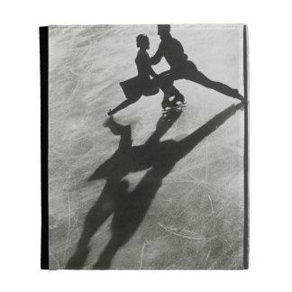 Ice Skating Couple iPad Folio Case