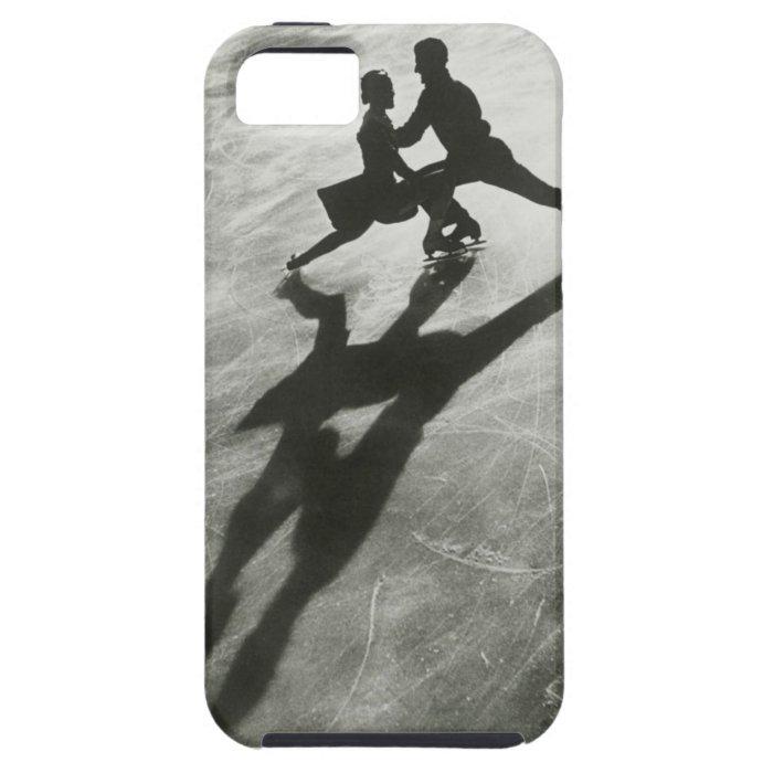 Ice Skating Couple iPhone SE/5/5s Case