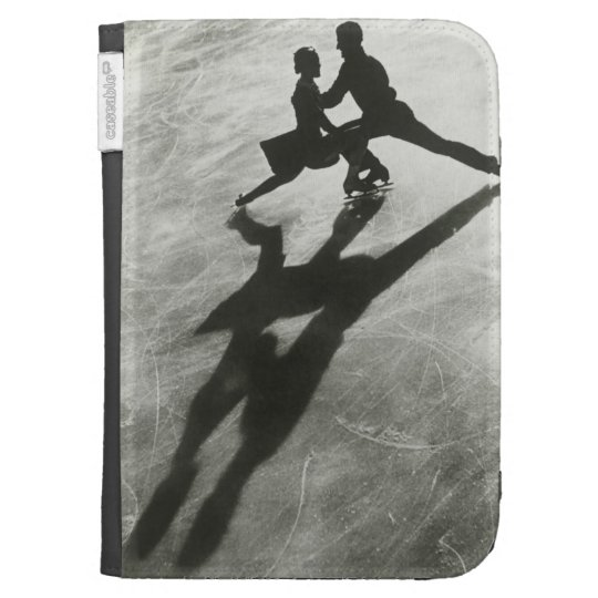 Ice Skating Couple Kindle 3 Cover