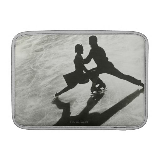 Ice Skating Couple MacBook Sleeve