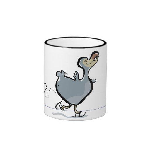 ice skating dodo mug