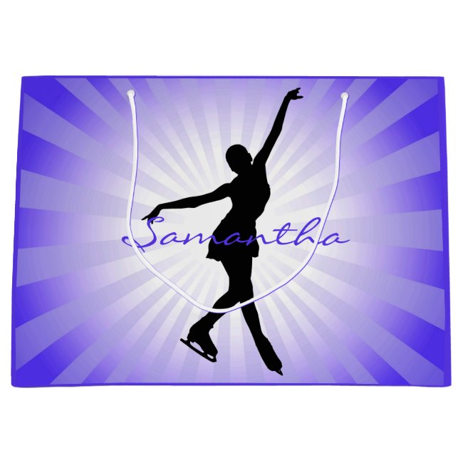 Ice Skating Figure Skating Design Gift Bag