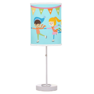 Ice Skating Table Pendant Lamps Zazzle