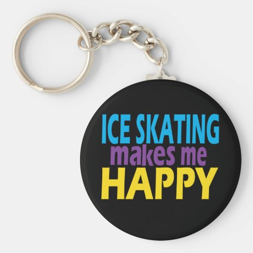 Ice Skating Gifts for Girls Key Chain