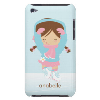 Ice Skating Girl Custom Case-Mate iPod Touch Case