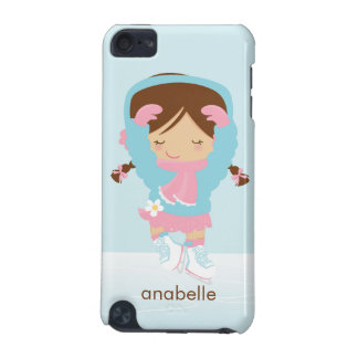 Ice Skating Girl Custom iPod Touch 5G Cover