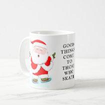 Ice Skating Holidays Coffee Mug
