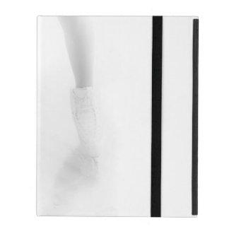 Ice skating iPad folio case