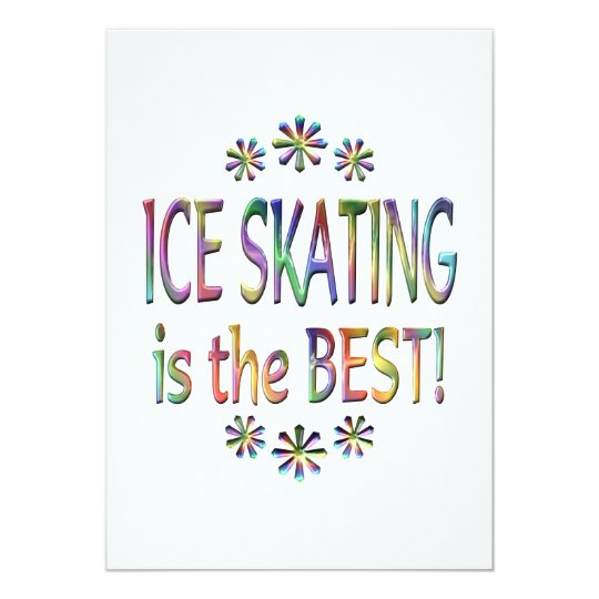 Ice Skating is the Best Card