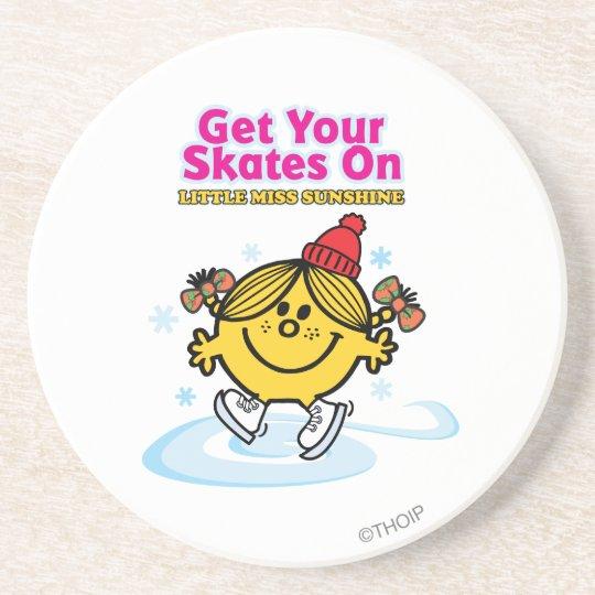 Ice Skating Little Miss Sunshine Coaster