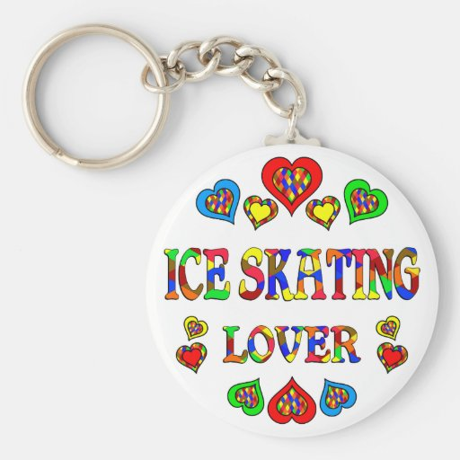Ice Skating Lover Key Chain