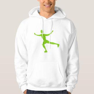 Ice Skating - Martian Green Pullover