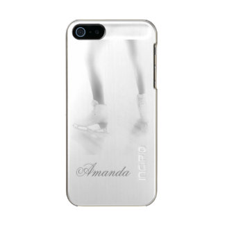 Ice skating metallic phone case for iPhone SE/5/5s