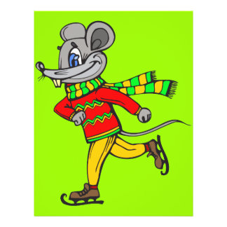 Ice Skating Mouse Flyer