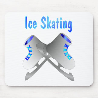 Ice Skating Mouse Pad