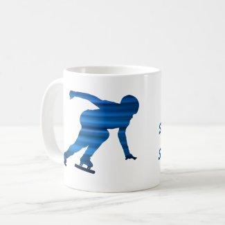 Ice skating mug (speed skating)