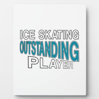 ICE SKATING OUTSTANDING PLAYER PLAQUE