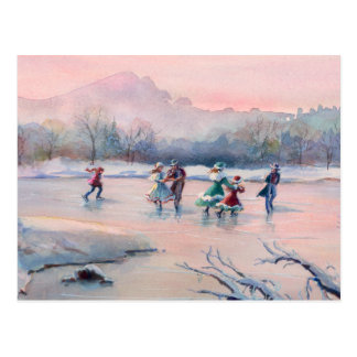 ICE SKATING PARTY by SHARON SHARPE Card