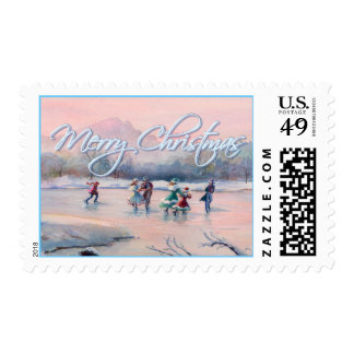 ICE SKATING PARTY by SHARON SHARPE Postage
