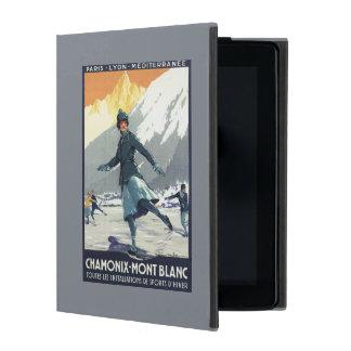 Ice Skating - PLM Olympic Promo Poster iPad Folio Case