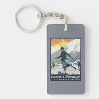 Ice Skating - PLM Olympic Promo Poster Keychain