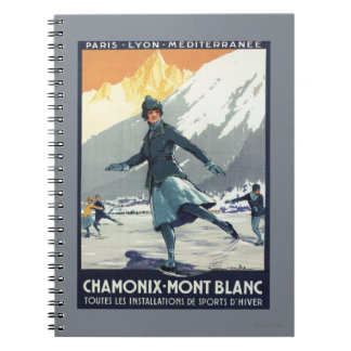 Ice Skating - PLM Olympic Promo Poster Note Book