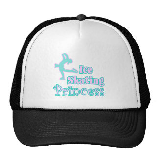 ice skating princess trucker hat