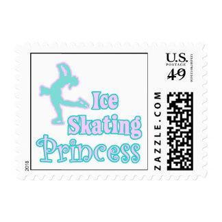 ice skating princess postage