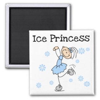 Ice Skating Princess Tshirts and Gifts 2 Inch Square Magnet