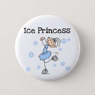 Ice Skating Princess Tshirts and Gifts Pinback Button
