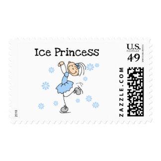 Ice Skating Princess Tshirts and Gifts Stamp