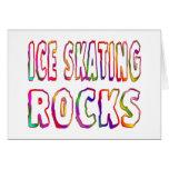Ice Skating Rocks Card