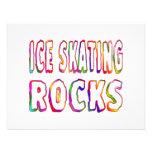 Ice Skating Rocks Invitations